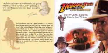 Indiana Jones and the Last Crusade Complete Score