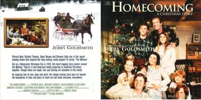 The Homecoming A Christmas Story.Cdrarescore Info Cd