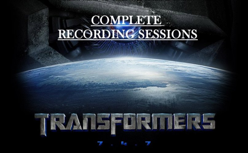 Transformers Complete Recording Sessions