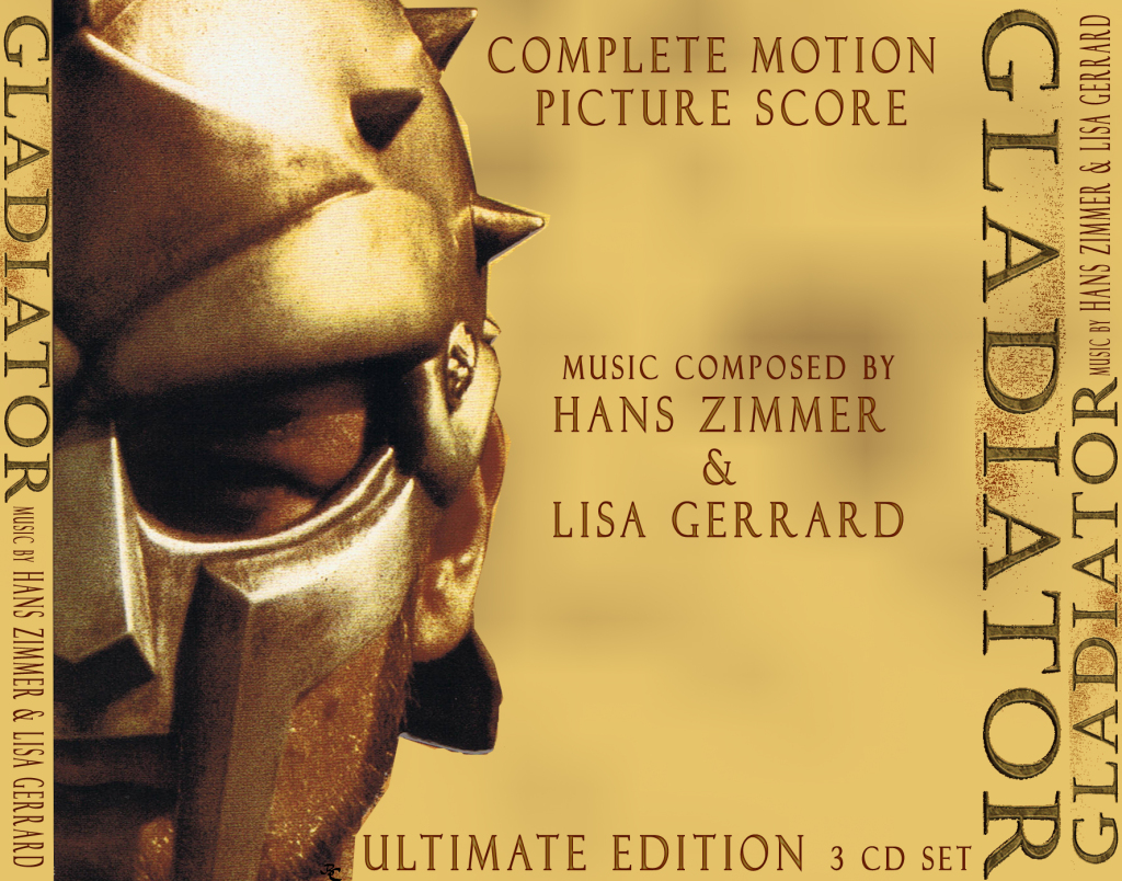 Gladiator Complete Score 3/CD
