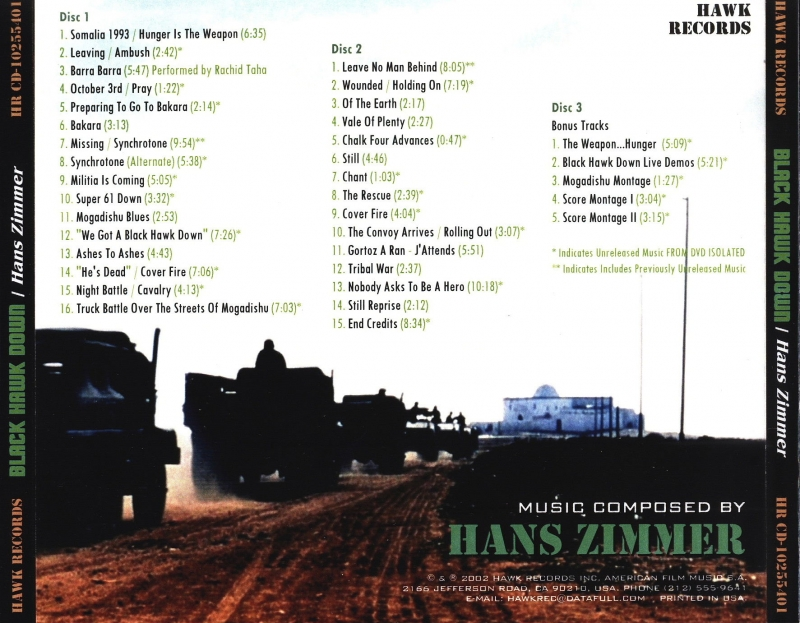 catalog hans zimmer traveling song