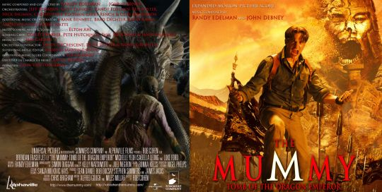 The Mummy III  Complete Score