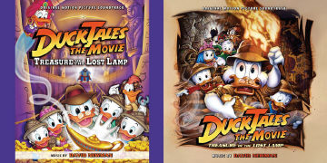 DuckTales Treausure of the lost lamp the movie