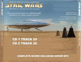 Attack Of the Clone Special Offer CD